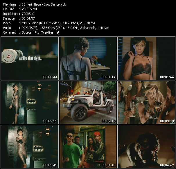 download Keri Hilson « Slow Dance » video vob
