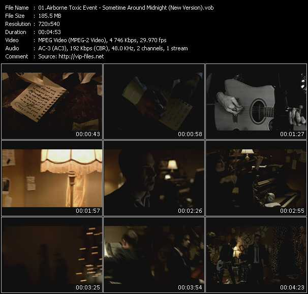 download Airborne Toxic Event « Sometime Around Midnight (New Version) » video vob