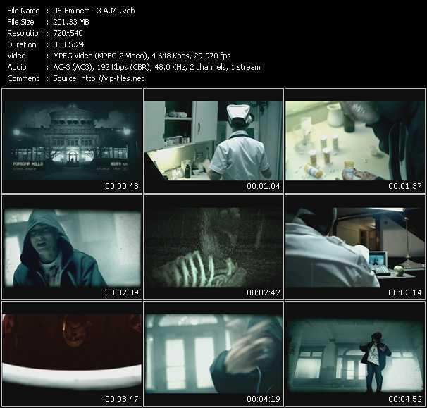 download Eminem « 3 A.M. » video vob