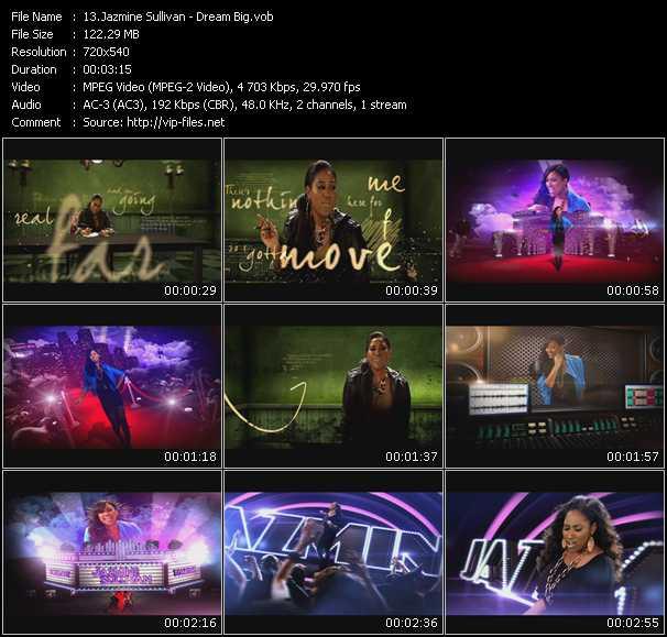 download Jazmine Sullivan « Dream Big » video vob