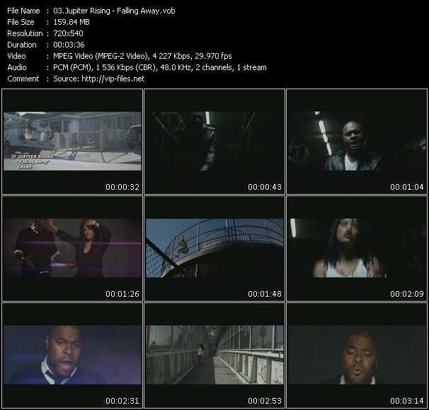 video Falling Away screen