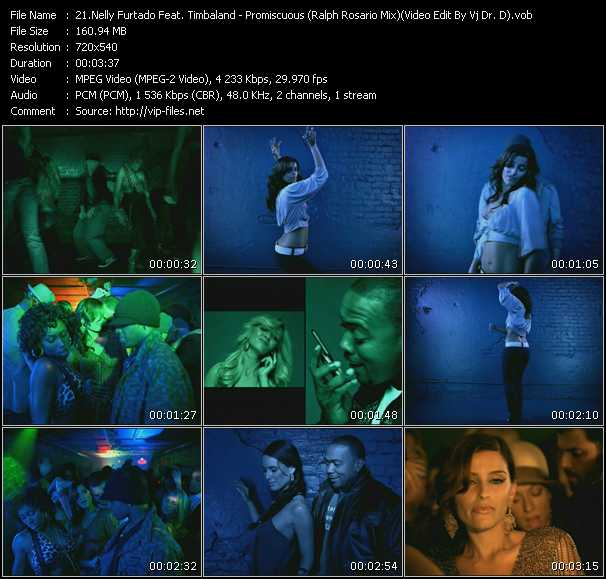 video Promiscuous (Ralph Rosario Mix) (Video Edit By Vj Dr. D) screen