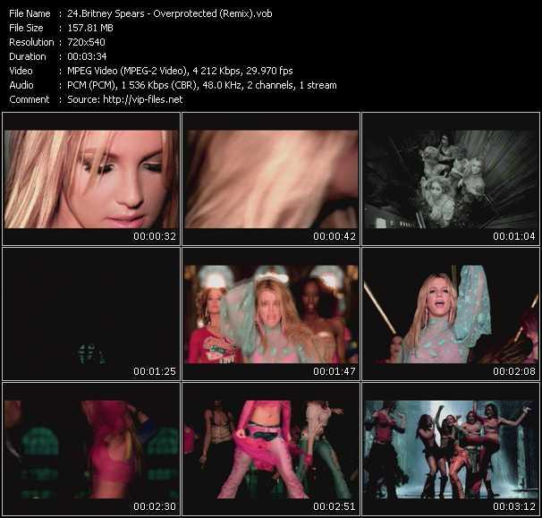 video Overprotected (Remix) screen