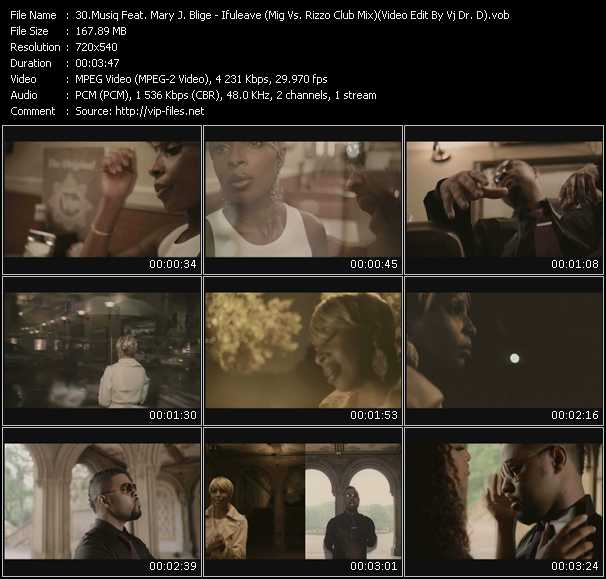 video Ifuleave (Mig Vs. Rizzo Club Mix) (Video Edit By Vj Dr. D) screen