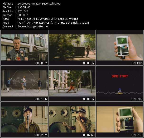 video Superstylin' screen