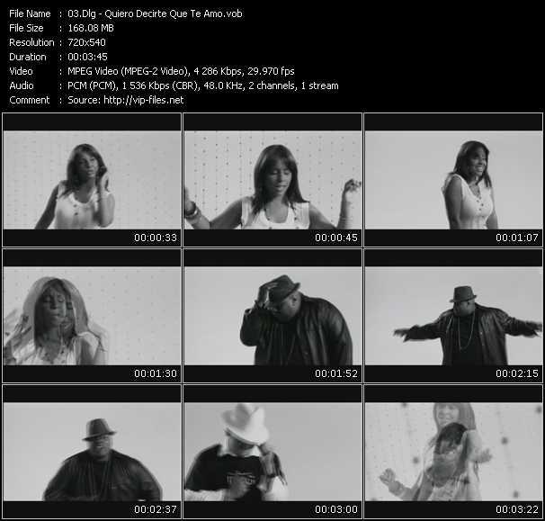 download Dlg « Quiero Decirte Que Te Amo » video vob