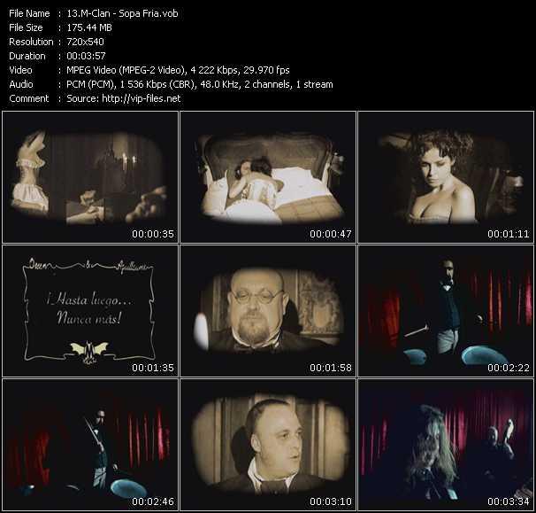 video Sopa Fria screen