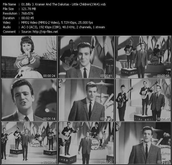 video Little Children (From Top Of The Pops 1964) screen
