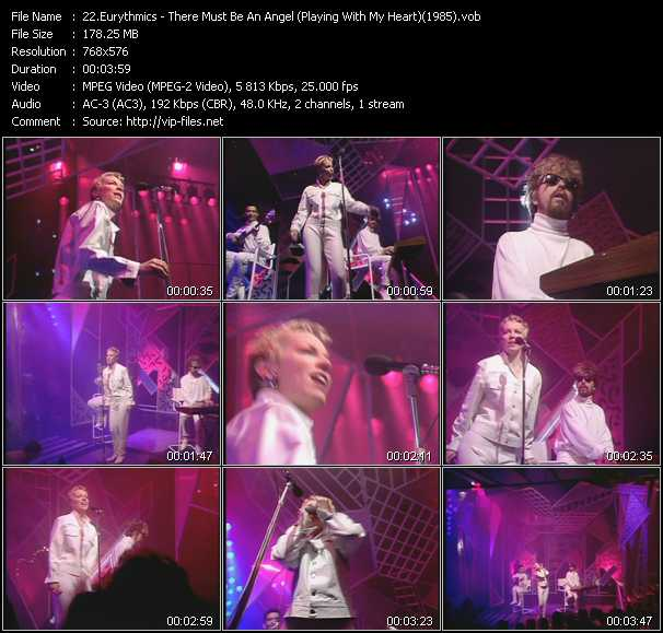 video There Must Be An Angel (Playing With My Heart) (From Top Of The Pops 1985) screen