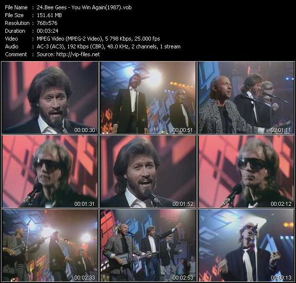 video You Win Again (From Top Of The Pops 1987) screen