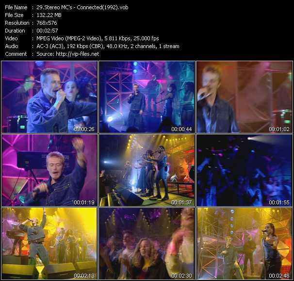 video Connected (From Top Of The Pops 1992) screen