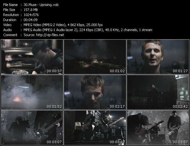 download Muse « Uprising » video vob