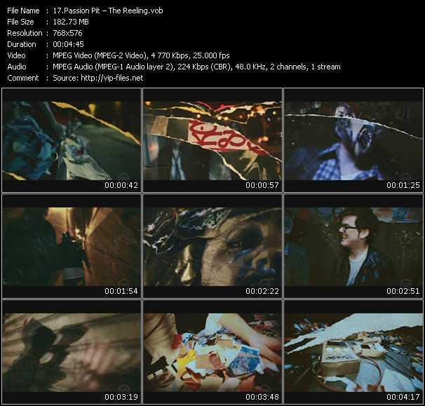 video The Reeling screen