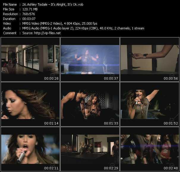 video It's Alright, It's Ok screen