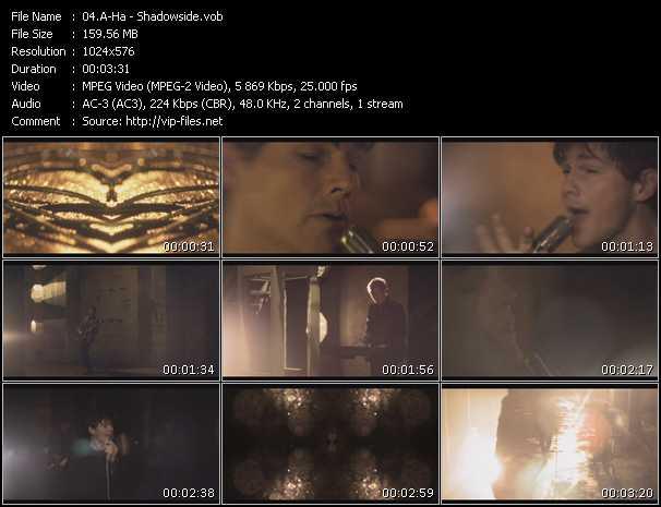 video Shadowside screen