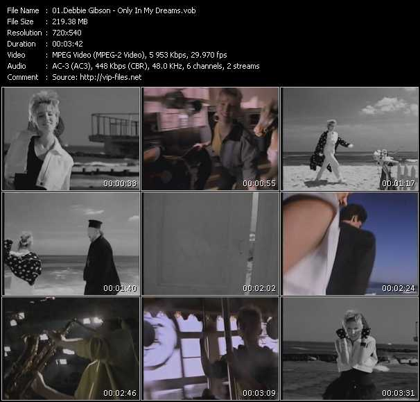 download Debbie Gibson « Only In My Dreams » video vob