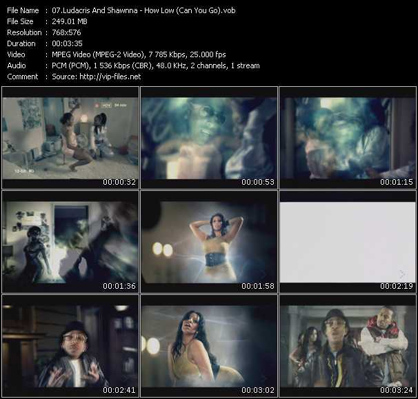 download Ludacris And Shawnna « How Low (Can You Go) » video vob