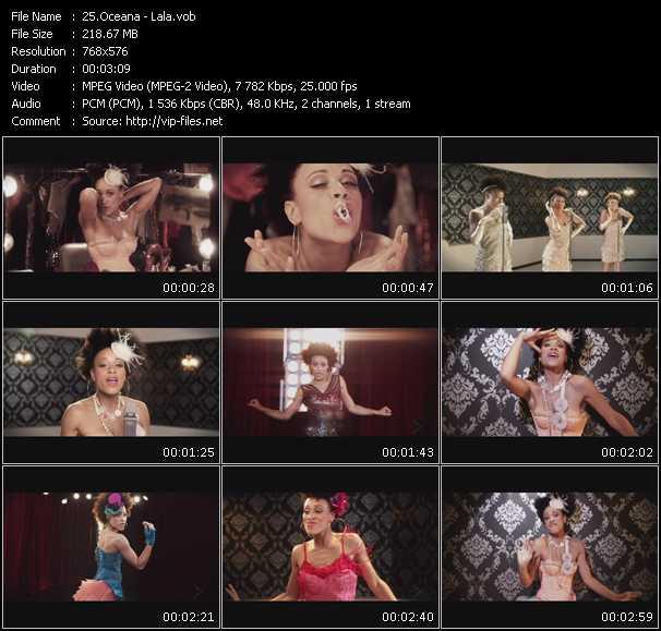 video Lala screen