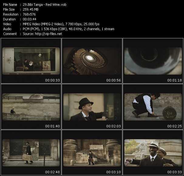 video Red Wine screen