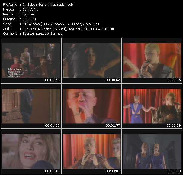 video Imagination screen