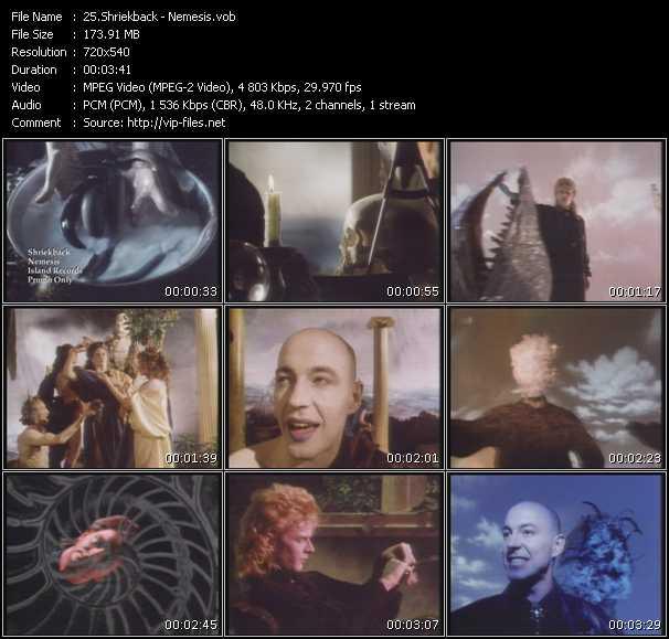 video Nemesis screen