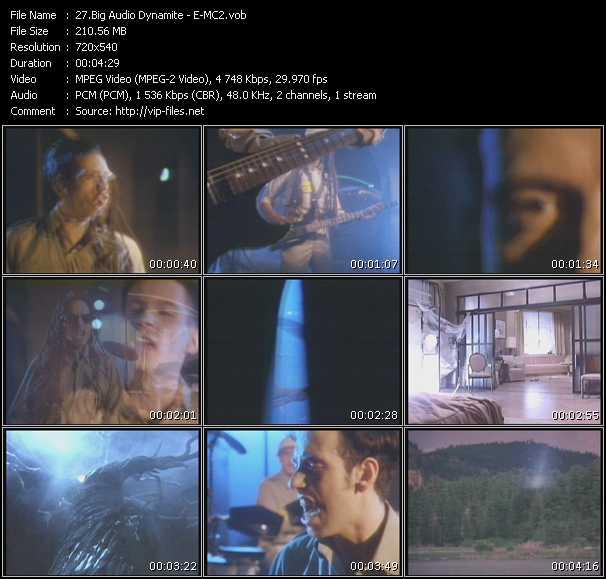 video E-MC2 screen