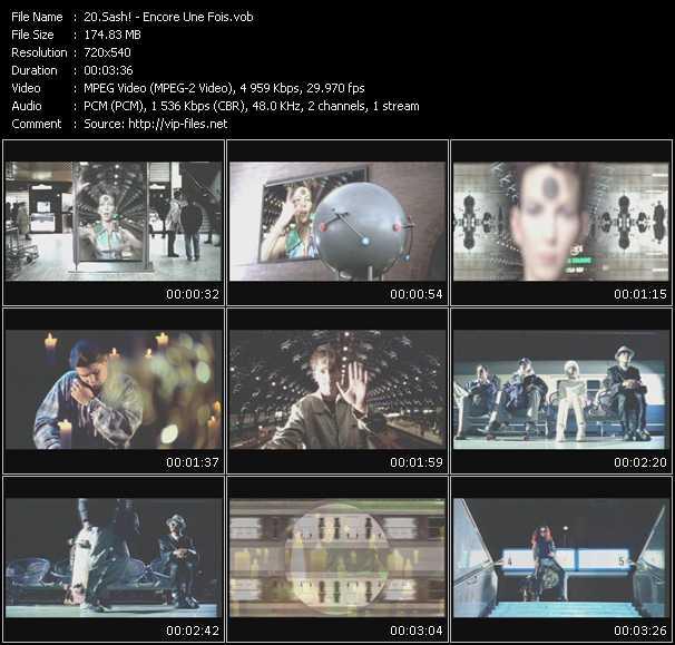 video Encore Une Fois screen