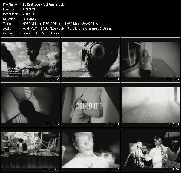 download Brainbug « Nightmare » video vob
