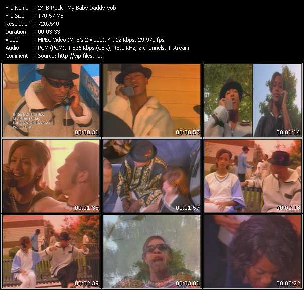 video My Baby Daddy screen