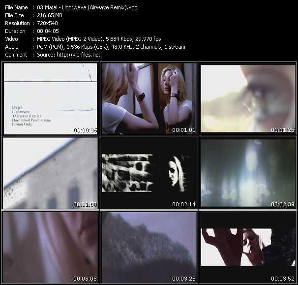 download Majai « Lightwave (Airwave Remix) » video vob