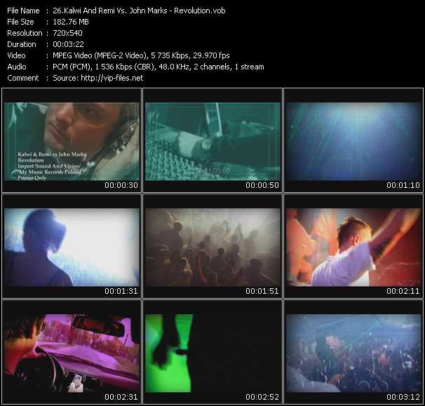 video Revolution screen