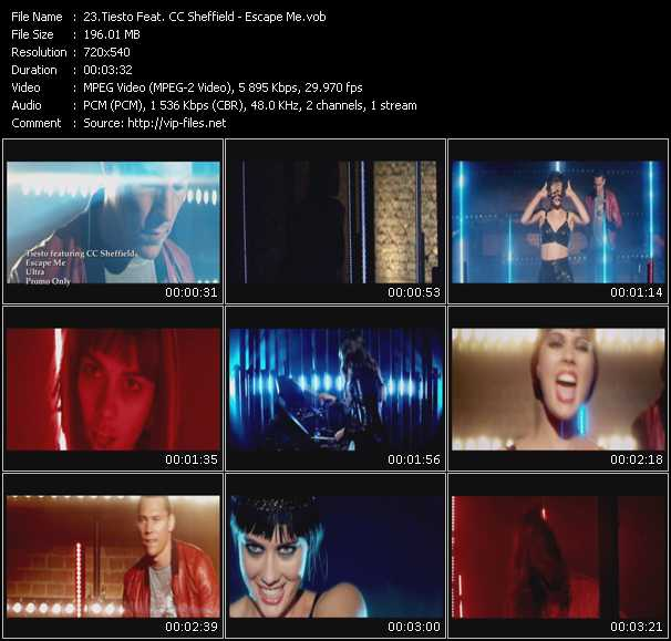 video Escape Me screen