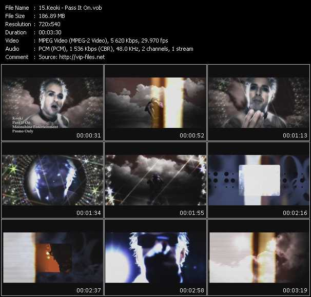 video Pass It On screen