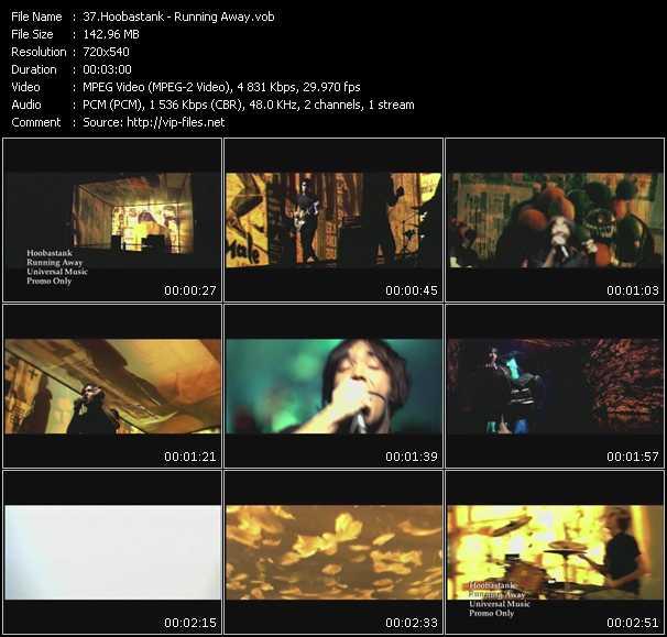 video Running Away screen