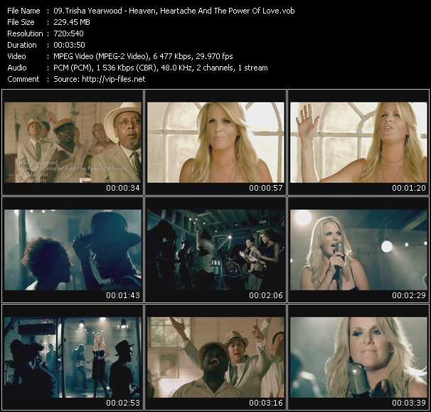 download Trisha Yearwood « Heaven, Heartache And The Power Of Love » video vob