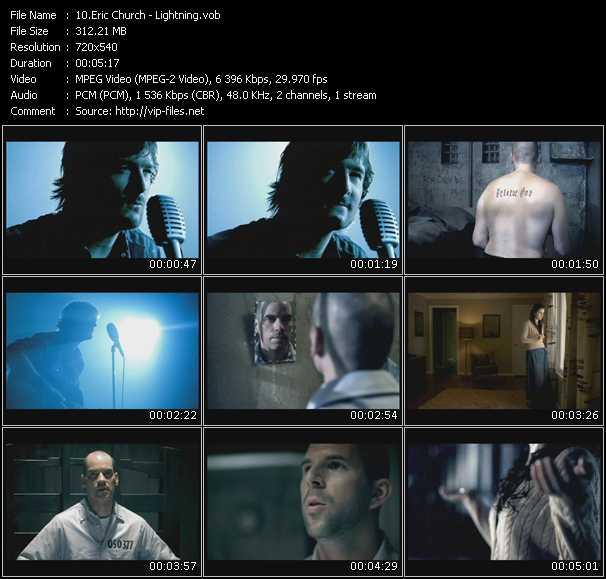 video Lightning screen