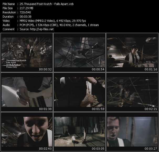 download Thousand Foot Krutch « Falls Apart » video vob