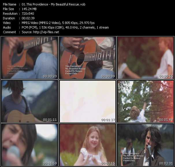 download This Providence « My Beautiful Rescue » video vob