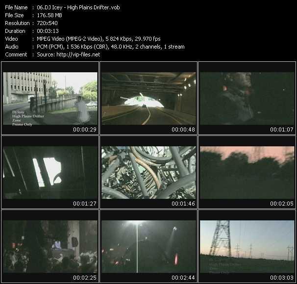 download Dj Icey « High Plains Drifter » video vob
