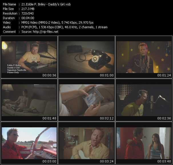 video Daddy's Girl screen