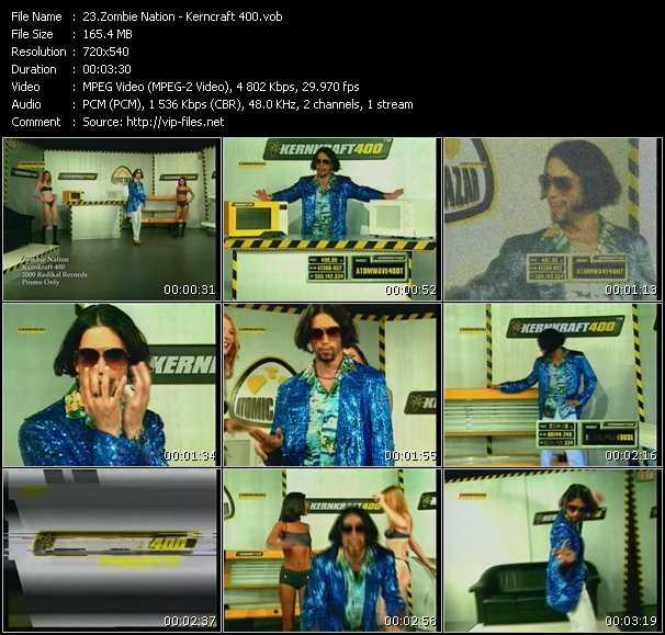 video Kerncraft 400 screen