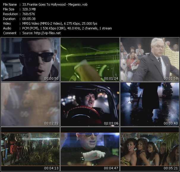 video Megamix screen