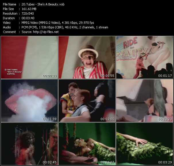 download Tubes « She's A Beauty » video vob