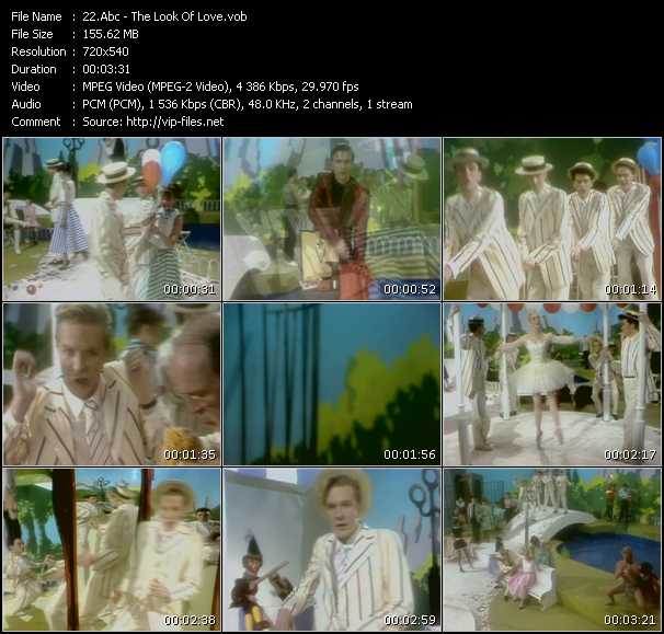 download Abc « The Look Of Love » video vob