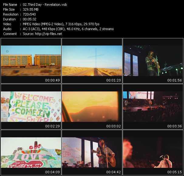 video Revelation screen