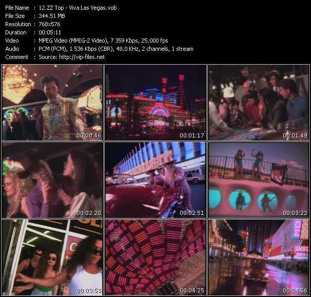 video Viva Las Vegas screen