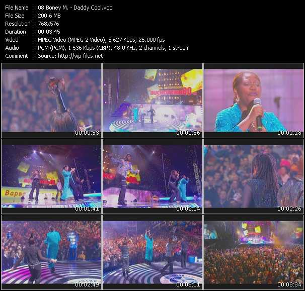 video Daddy Cool (Live From Moskau) screen