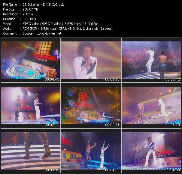 video D.I.S.C.O (Live From Moskau) screen