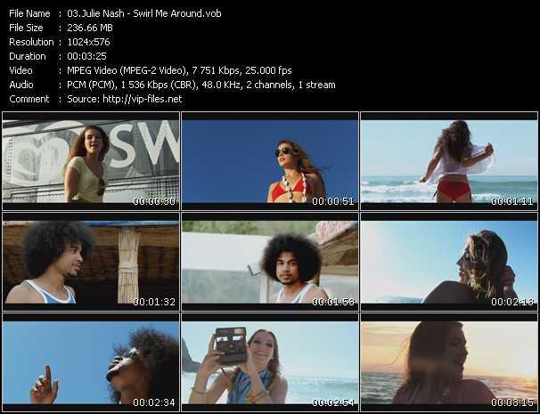 video Swirl Me Around screen