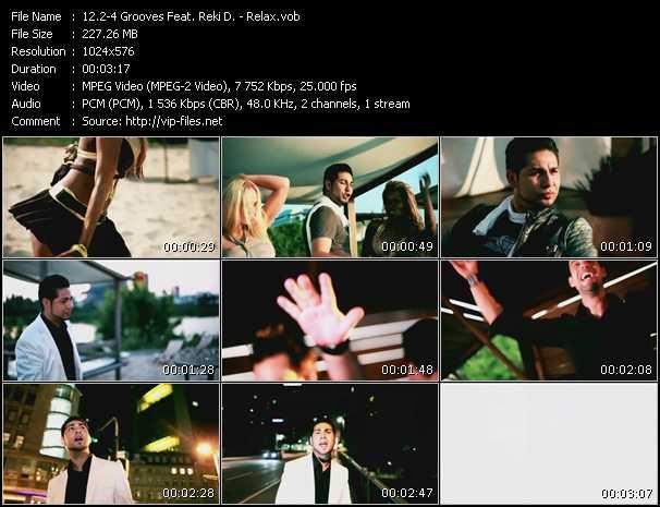 download 2-4 Grooves Feat. Reki D. « Relax » video vob